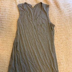 Grey J. Crew dress